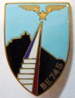 Insigne ARMEE DE L'AIR BASE AERIENNE ECOLE BE 745 AULNAT ORIGINAL AB EMAIL 1960
