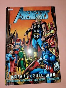 Avengers Kree Skrull War HC (Hardcover) captain marvel fantastic four nick fury