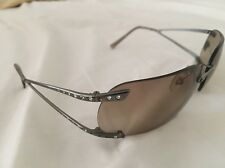 Vintage Versace N86/H 1001/13 66□13 120 Silver Rimless Grey RARE Authentic