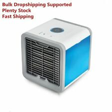 2019 New Mini USB Fan Portable Air Conditioner Air Conditioning Air Cooler Blue