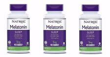 Natrol Melatonin Time Release 5mg Tablets 300Tabs - 3 Pack - Exp Date 01-2020