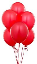 "25 pcs 12"" Latex Balloons Red Colour birthday Decorations Party celebrations"