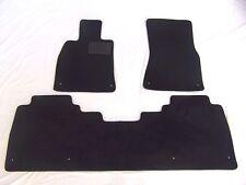Lexus LS460L RWD ONLY  3pc Set Custom Fit carpet floor mats Black 2007-2012