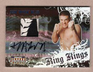 "2008 Donruss Americana Jason ""Mayhem"" Miller Ring Kings Event Relic Auto 25/50"