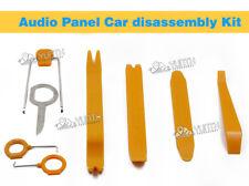 8x Plastic Car Radio Door Clip Panel Trim Dash Audio Removal Pry Kit Tool Set