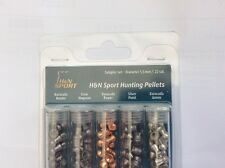H & N PELLETS SAMPLE PACK 5 TUBES.22 SPORT HUNTING  Baracuda Silver Point Magnum