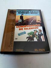 """DVD """"CONSPIRACION DE SILENCIO"""" DVD LIBRO DIGIBOOK SPENCER TRACY ROBERT RYAN JOHN"""