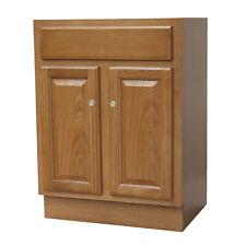 24x18 Oak Vanity Two Door