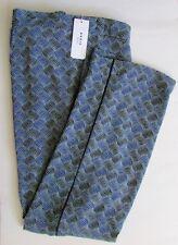 NWT $595 AKRIS Punto MARLA Abstract Diamond Pants Sz16