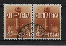 SOUTH AFRICA SG92 1941 WAR EFFORT 4d ORANGE-BROWN USED