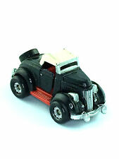 Micro Machines Vehicle Car Deluxe 1936 Ford Roadmaster Touring Auto Galoob Black