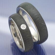 Trauringe   Eheringe   Freundschaftsringe aus Edelstahl und Carbon P7111996
