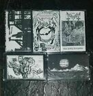 Mayhem, Emperor, Morbid, 1Burzum, Darkthrone, Demo Tapes Bundle Black Metal