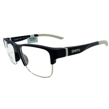 New SMITH Men's Eyeglasses Outsider 180 4NZ Matte Midnight Slab Frame 55-16-140