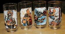 Drinking Glasses Goonies 1985 Set of 4 Never used! Nos