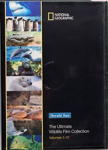 National Geographic - The Ultimate Wildlife Film Collection DVD Set Vol 1 - 10