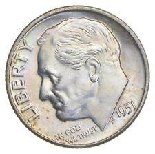 Unc BU MS 1951-D - US Roosevelt 90% Silver Dime Coin Collection Set Break *745