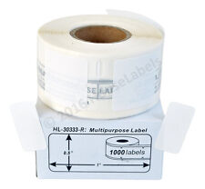 24 Rolls of 1,000 REMOVABLE Multipurpose Labels for DYMO® LabelWriters® 30333