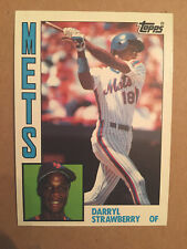 1984 DARRYL STRAWBERRY TOPPS #182 ROOKIE BASEBALL CARD(S), FREE SHIPPING!