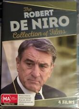 Robert De Niro Collection Of Films (DVD, 2016, 4-Disc Set) BRAND NEW & SEALED