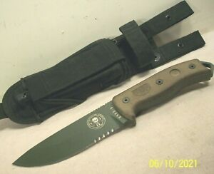 2000~ROWEN~ESEE 5~RANDALL'S ADVENTURE HUNTING & FIGHTING KNIFE w/ORIGINAL SHEATH
