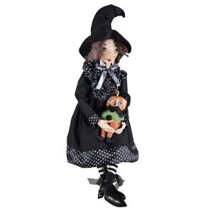 """""""Rosalea Witch w/ Pumpkin"""" - Gathered Traditions by Joe Spencer (FGS72590)"""