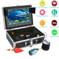 30M HD 9 Inch 1000TVL Fish Finder Underwater Video Camera Fishing Equipment Kit