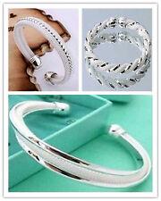 Fashion Jewelry Wholesale Womens 925Silver Bangle/Bracelet Chain gifts