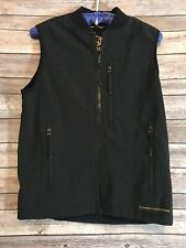Noble Outfitters Womens Juniors Size Small Black Reversible Vest
