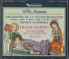 Martin - Ansermet: Le Mystere de la Nativite; Pilate (2 CD, Cascavelle) Like New