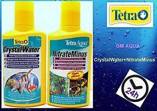 TETRA CRYSTAL WATER 250ml  + TETRA NITRATE MINUS 250ml