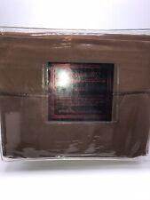 Lexington 1800 Sheet Set Sheets Egyption Cotton Feel MicroFiber Full Brown