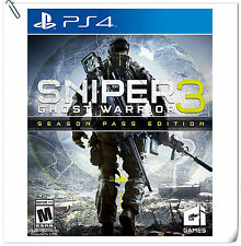 PS4 Sniper: Ghost Warrior 3 SONY City Interactive Shooting Games