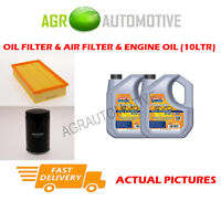 PETROL OIL AIR FILTER KIT + LL 5W30 OIL FOR JAGUAR XF 3.0 238 BHP 2007-