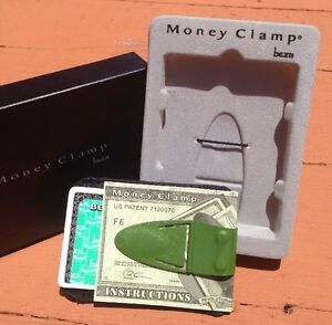 Money Clamp Clip Beza Compact Wallet Cash/Credit Groomsman Concealable Gift NEW