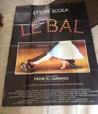 AFFICHE CINEMA 119 x 160 1983 LE BAL Ettore Scola JC Penchemat Berman E Guichard