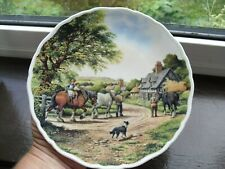 """Royal Doulton Collectors Plate """"Homeward Bound"""" From Village Life Series, 1993"""