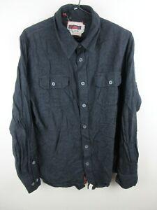 Altamont Shirt Mens Extra Large Denim Long Sleeve Button Down Regular Fit Adult