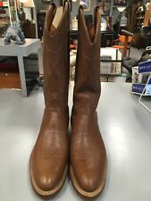 NWOT's TONY LAMA 4013 Western Boots Mens Size 10 B Brown Size 2 (Fits Like 9.5)