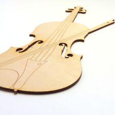Geige aus Holz 30 cm 1Stück Musikinstrument Geschenk Musik Musiker
