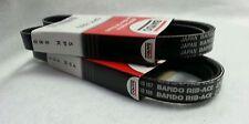 Mitsubishi BANDO Belt 2pcs Alternator-Air Conditioning-Power Steering