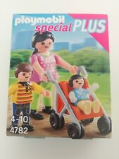 Playmobil 4782 - Mother with 2 kids and buggy (MISB, NRFP, OVP)