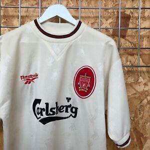 Liverpool Reebok Away Shirt 1996/1997 - Size M MEDIUM - TOP KIT JERSEY VTG
