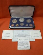 Series Coinage Barbados 1974 Coniage Proof Set Dollars Franklin Mint