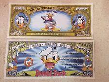 Walt Disney's DONALD DUCK ~ $1,000,000 One Million Dollars; Sufferin Succotash