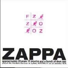 Frank Zappa - Fz:oz NEW CD