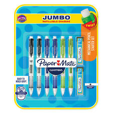 Papermate 8 Pk Clearpoint Mechanical Pencil W Lead Refills
