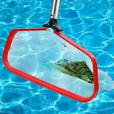 19.5inch Pool Skimmer with Deep Net Bag Strong Reinforced Aluminum Frame Handle