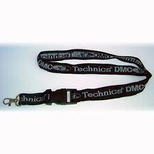 Technics / DMC Lanyard / Schlüsselband / Black / Silver (WL) NEU+OVP!!!