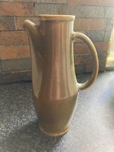 Vintage  Ceramic Hand Made Olive Oil Vinegar Salad Dressing Jug